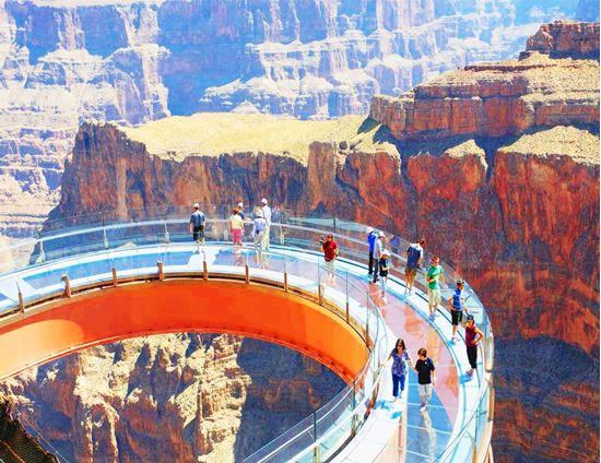 7 Days C W West Grand Canyon Skywalk Las Vegas San