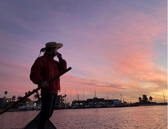 圖片 聖誕燈,洛杉磯威尼斯水城浪漫夜遊
